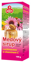 PM MEDOVÝ SIRUP s echinaceou a vitaminem C 100 g